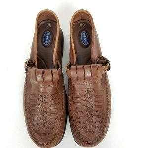 Dr. Scholl's Edith leather loafer air pillow
